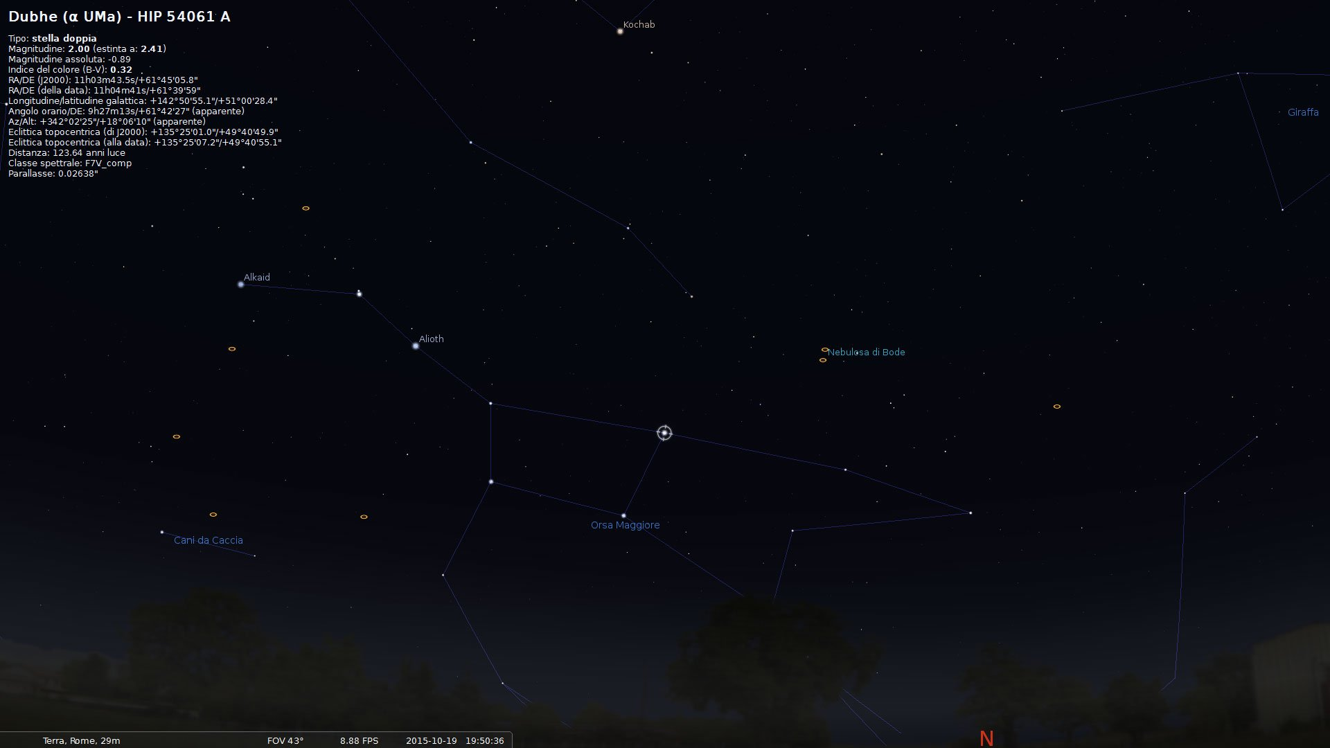 Come osservare la Galassia a Spirale M81