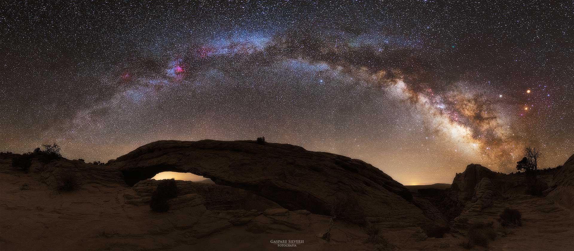 Pano Mesa Arch - Gaspare Silverii