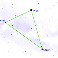 triangolo estivo stelle