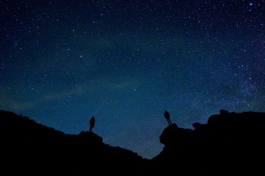 cielo stellato uomini