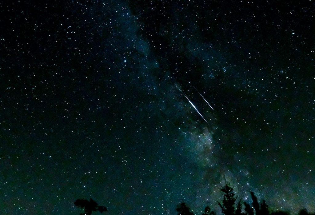 stelle cadenti notte