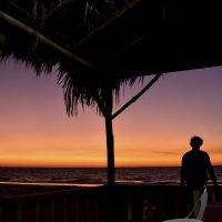 africa madagascar kirindy mitea tramonto