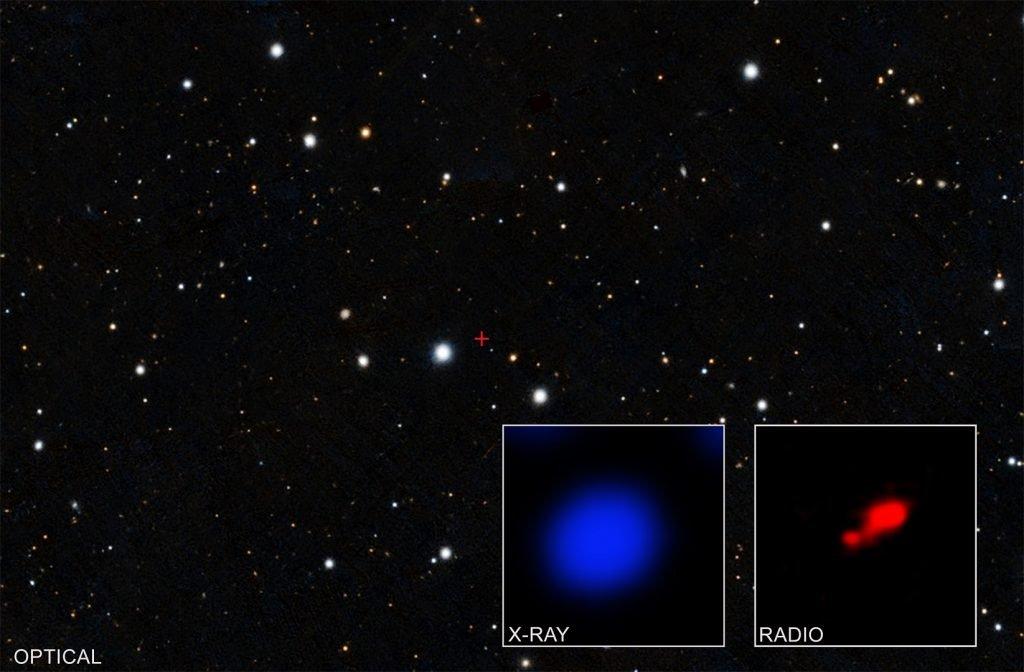 buco nero nascosto NASA