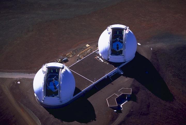 telescopi keck mauna kea