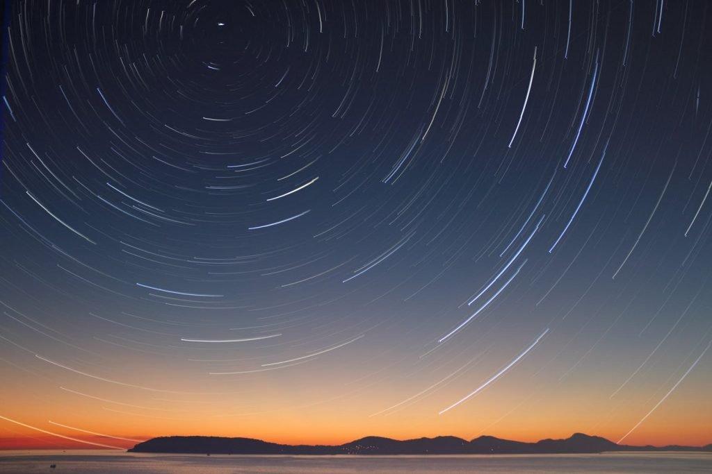 stelle tramonto