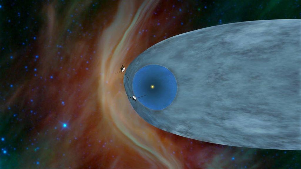 sonda voyager 2 eliopausa