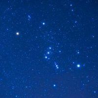 costellazione orione cielo del mese di gennaio 2020