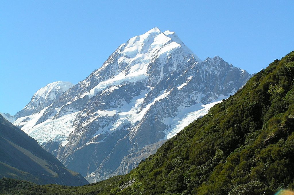 Aoraki-Monte Cook Nuova Zelanda