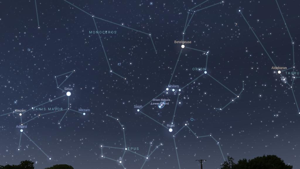 nebulosa di orione m42