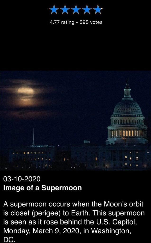 app astronomia NASA