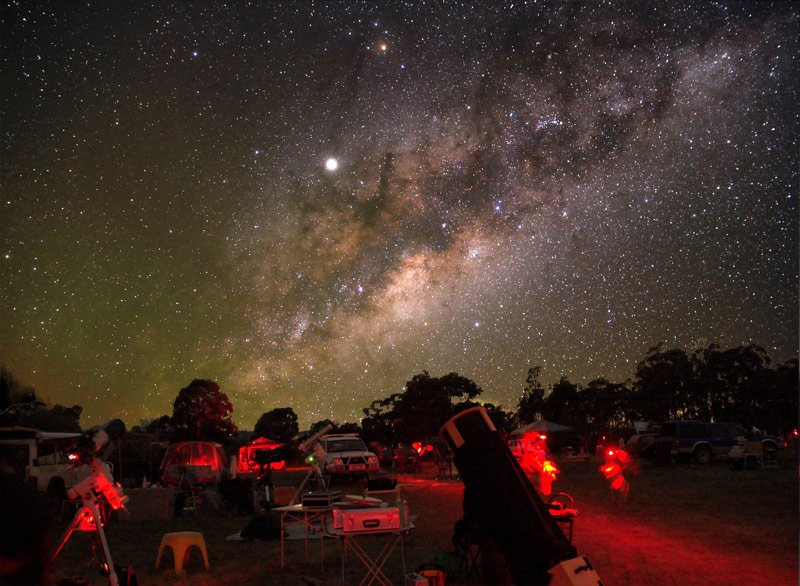 astroturismo: dove osservare le stelle Oceania