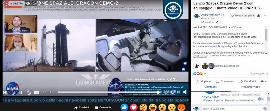 Lancio SpaceX capsula Dragon: non c'è l'ok per partire, nuova partenza sabato pomeriggio