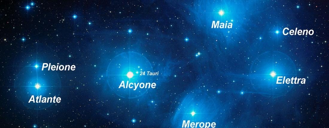Pleiadi, identikit dell'ammasso di stelle più luminoso