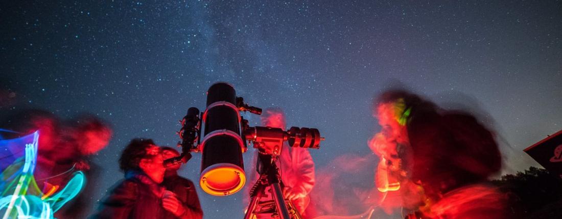 Notti di stelle, pianeti e meraviglie della volta celeste