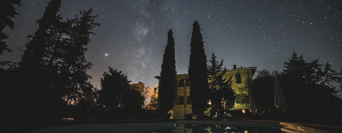 """Tenuta Santa Trice certificata tra """"i cieli più belli d'Italia"""""""
