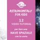 Astronomitaly for Kids: facciamo insieme una nave spaziale di carta!