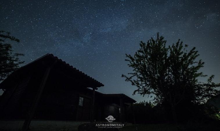 """Il cielo stellato della Tolfa è tra """"I Cieli più Belli d'Italia"""""""