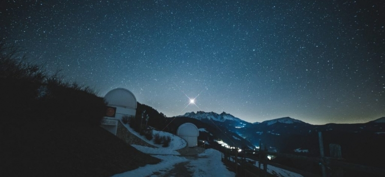 """Il primo Astrovillaggio d'Europa in Alto Adige certificato tra """"I Cieli Più Belli d'Italia"""""""