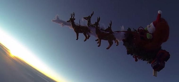 Babbo Natale nello Spazio: ecco come porterò il Natale sui Pianeti del Sistema Solare
