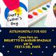 Astronomitaly for Kids: un biglietto spaziale per la festa del papà!