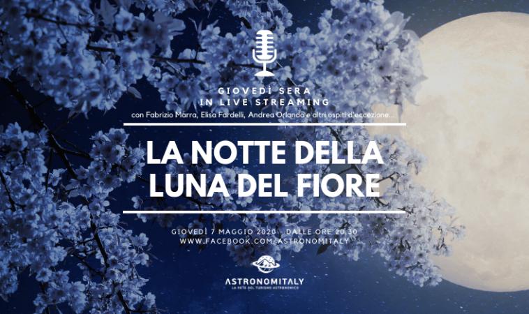 """La Luna del Fiore: l'ultima """"Superluna"""" del 2020 in diretta video nazionale"""