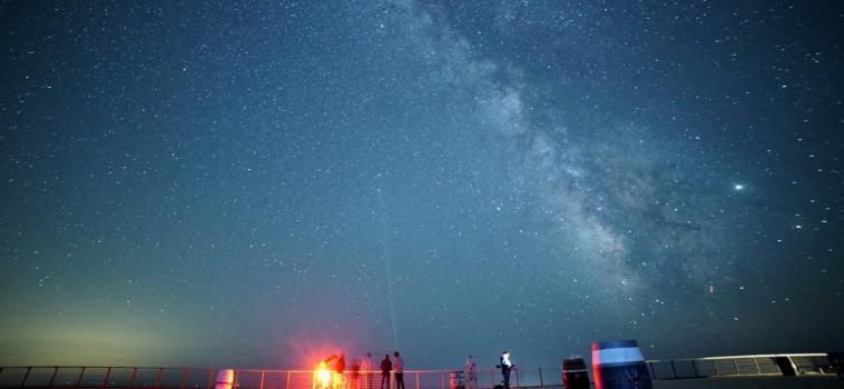 """Elba Space Week, stupenda foto della Via Lattea scattata sotto uno dei """"Cieli più belli d'Italia"""""""