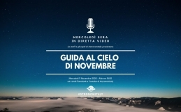 Guida al Cielo di Novembre in Diretta Video