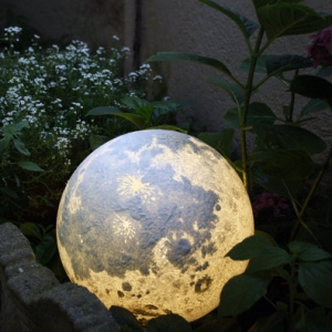 Lampada Luna fatta a mano - Pulsar Moonlight