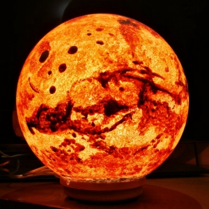 Lampada Marte fatta a mano - Pulsar Moonlight