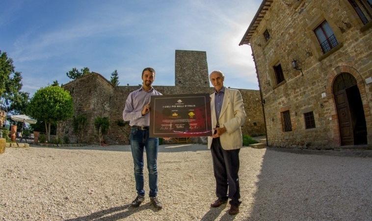 """Il Castello di Petroia è fra """"I cieli più belli d'Italia"""""""