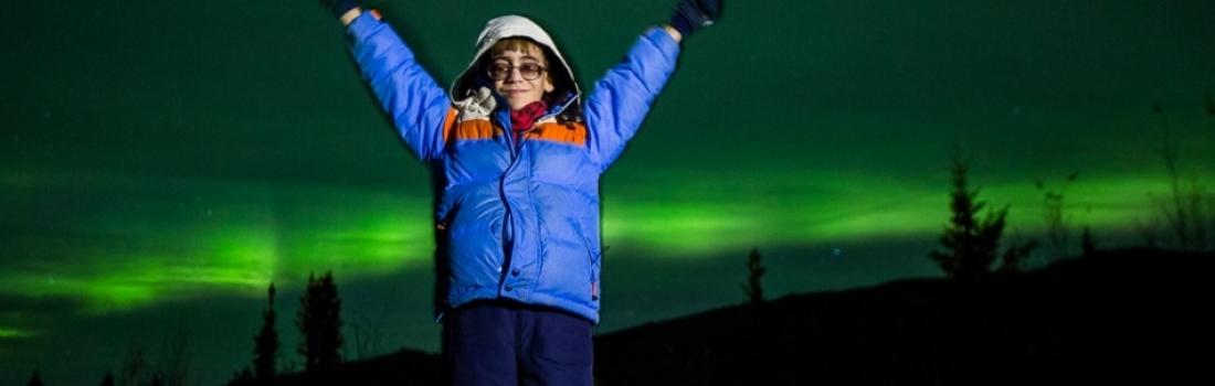Ben Pierce, 9 anni, decide di vedere l'Aurora prima di diventare cieco
