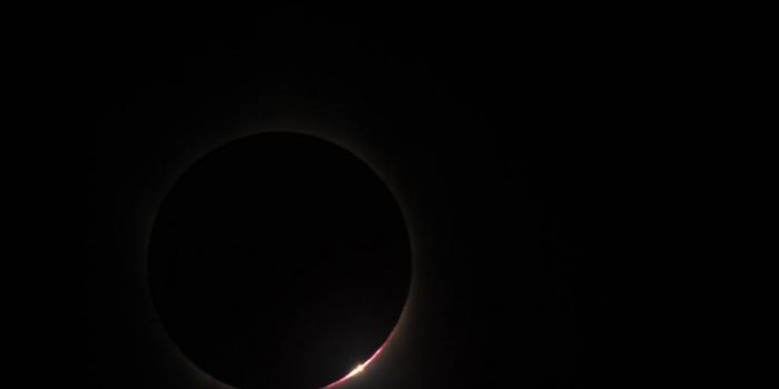 Solar Eclipse - Copyright NASA-JAXA