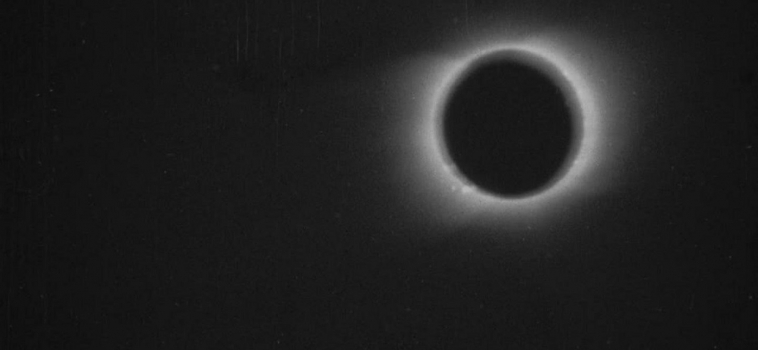 Restaurata la prima ripresa video di un'eclissi di Sole: risale al 1900