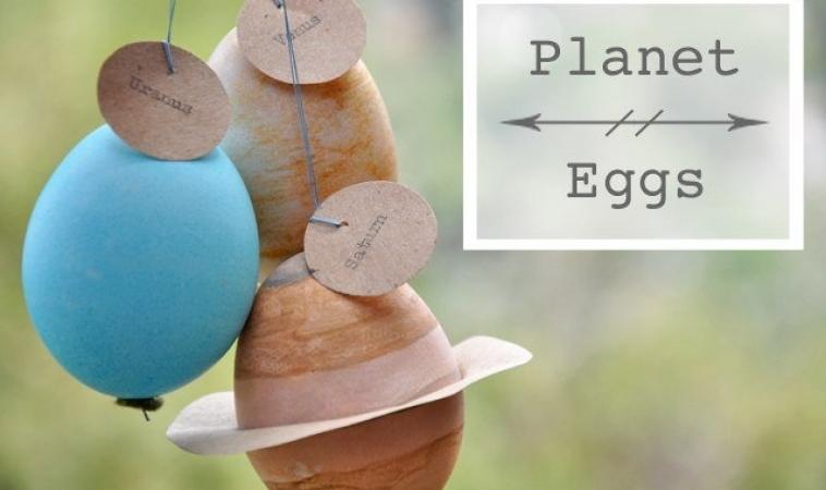 TUTORIAL: Realizziamo delle Uova di Pasqua a forma di Pianeti del Sistema Solare!