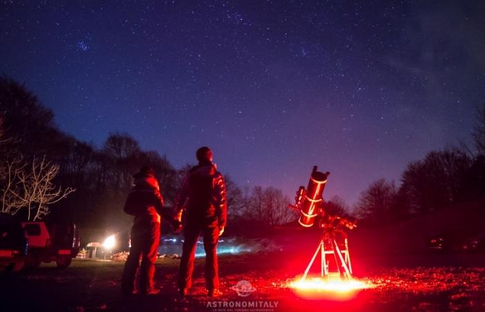 Astro Trekking in Abruzzo sotto le Stelle a Pescocostanzo