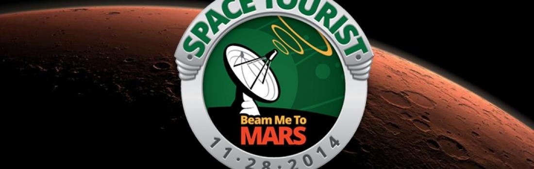 Beam me to Mars: inviate le vostre parole e foto su Marte!