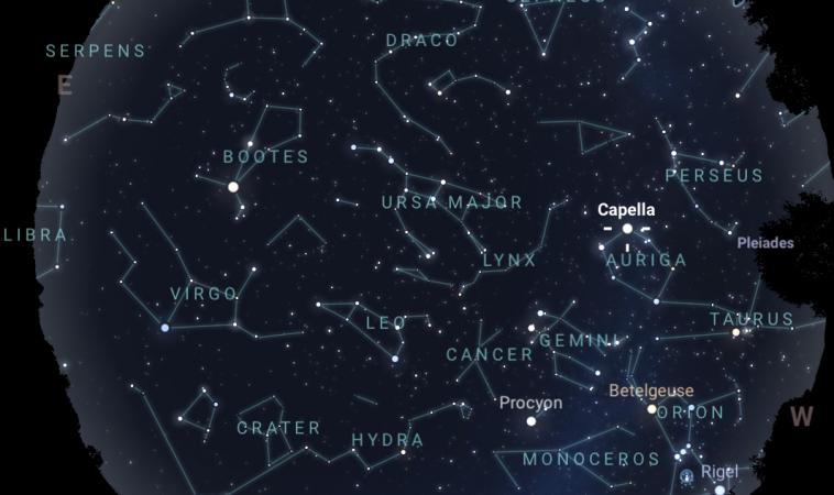 Il cielo di marzo 2020: spettacolari congiunzioni all'alba