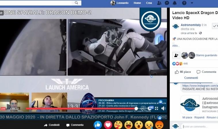 SpaceX nella storia: perfettamente riuscita la missione della Crew Dragon, soprannominata Endeavour