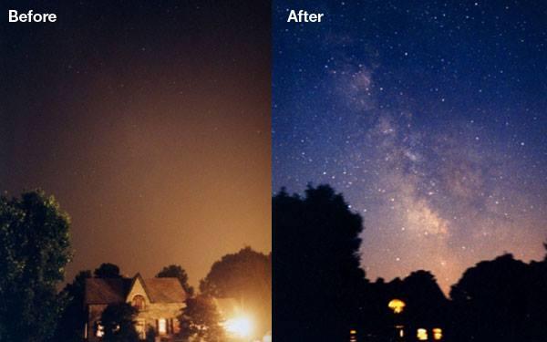 Inquinamento luminoso - Cielo Notturno