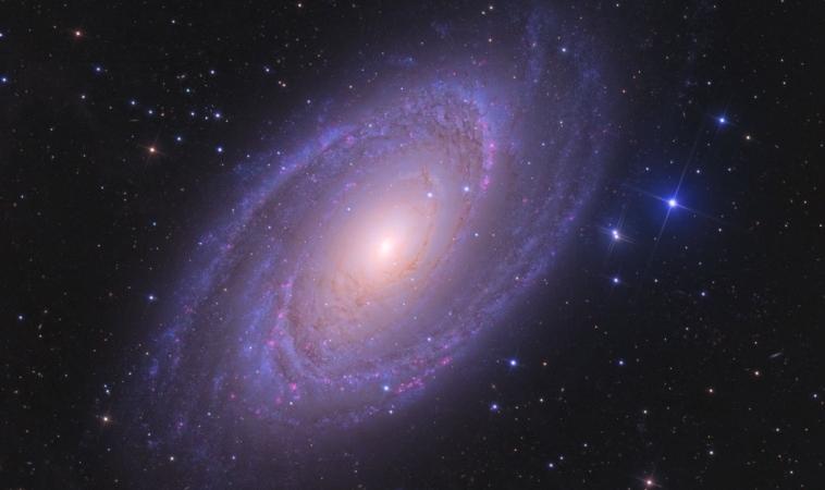 Astronomia: la brillante galassia a spirale M81