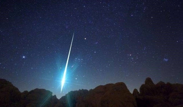 Meteore Eta Aquaridi (cometa Halley)