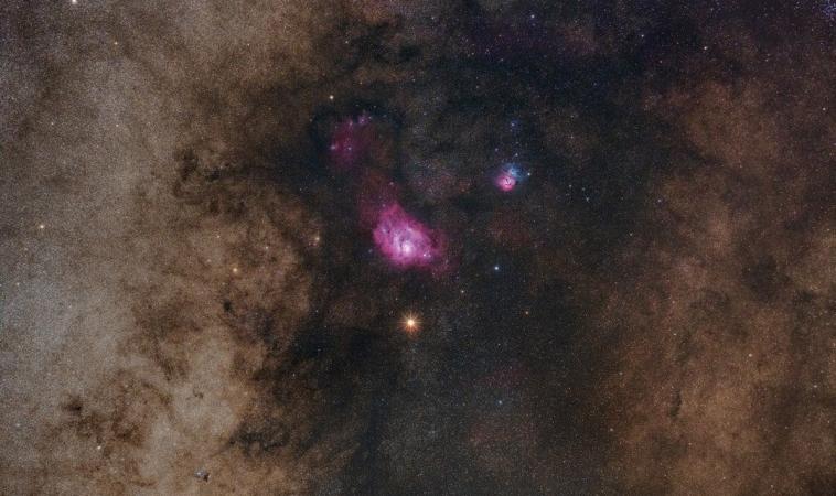 La Creatura dalla Nebulosa Laguna Rossa