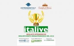 Astronomitaly e Il Castello di Petroia vincono il PREMIO NAZIONALE ITALIVE