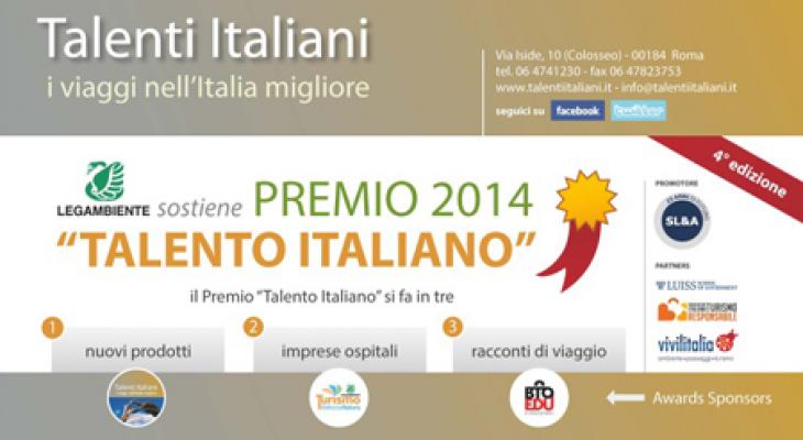 """Assegnati i Premi """"Talento Italiano 2014"""""""