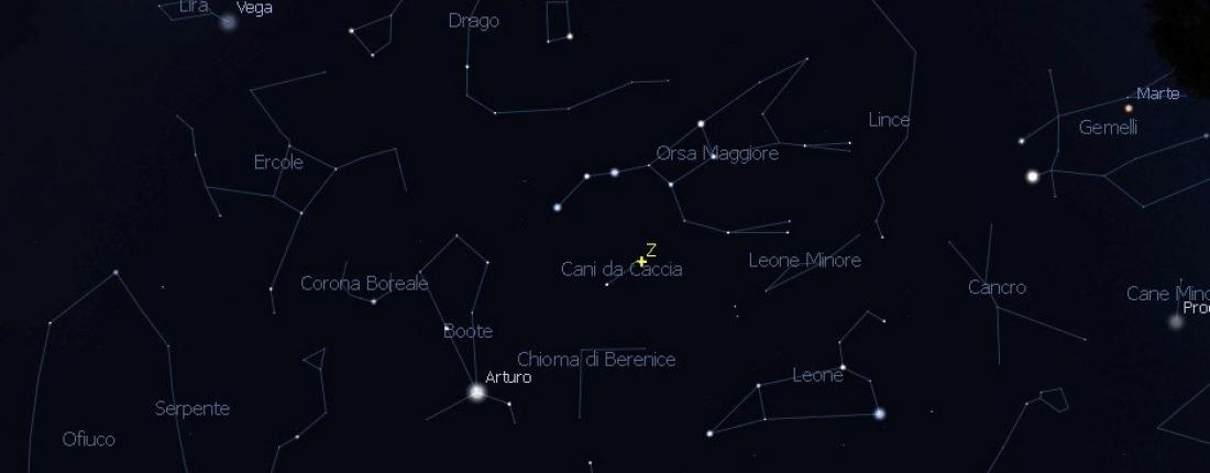 Il cielo di maggio 2021: guida agli oggetti celesti e agli eventi astronomici del mese