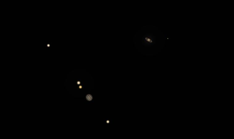 La grande congiunzione: l'incontro tra Giove e Saturno